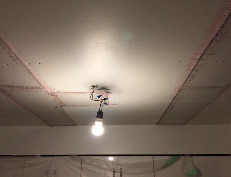 water damaged ceiling repair coquitlam bc