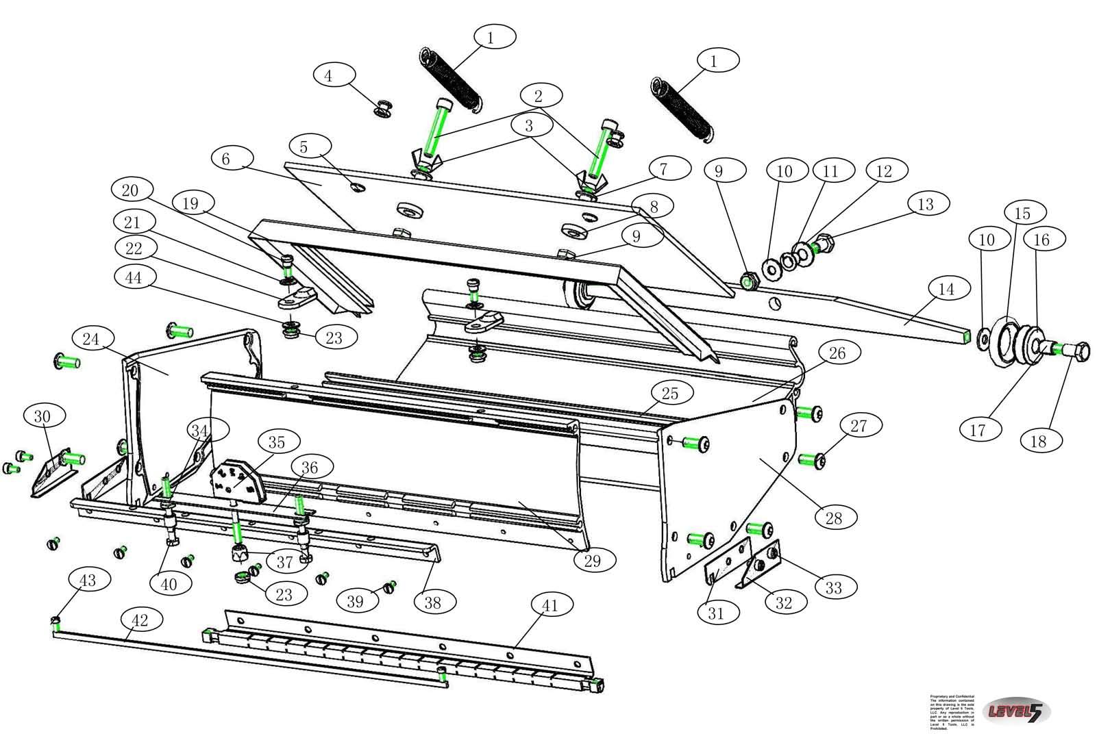 Drywall Tools Level 5 Box Parts Level 5 10 Box Parts