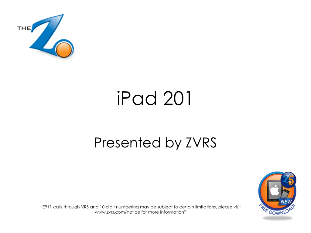 Z5 Tutorial Guide Page