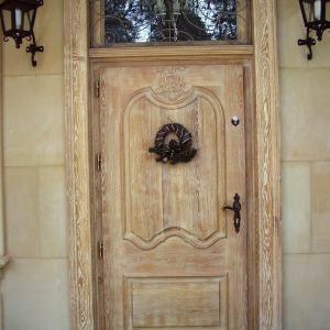 Debowe drzwi wejsciowe na wymiar