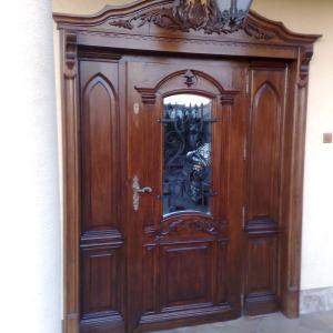 Drzwi zewnetrzne stylowe na wymiar