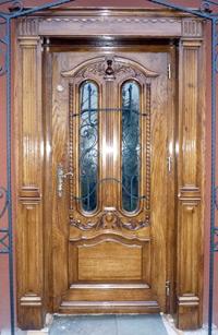 Drzwi frontowe drewniane na wymiar
