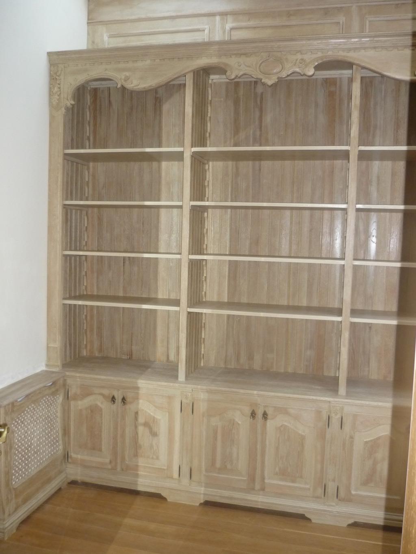 Drewniana biblioteka na wymiar