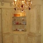 Drewniane szafki lazienkowe