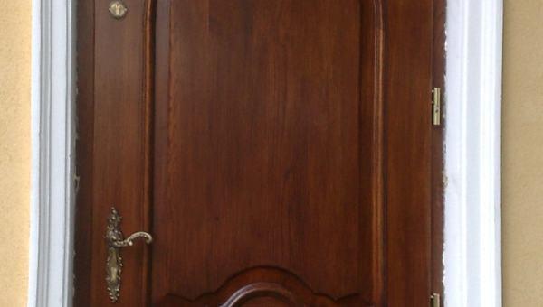 Drzwi frontowe stylowe proste