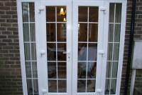 Patio Door Sidelites & ... Single French Patio Door With ...