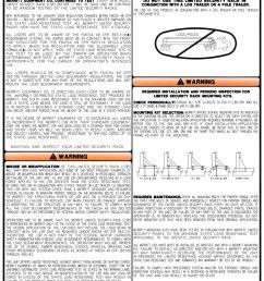 merritt aluminum headache racks cab racks mounting kits 800 789 8143 [ 914 x 1119 Pixel ]