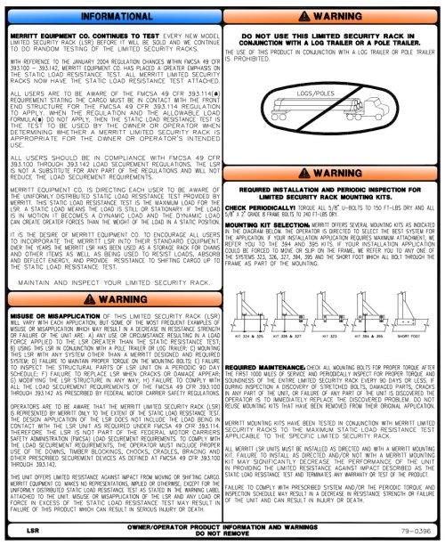 small resolution of merritt aluminum headache racks cab racks mounting kits 800 789 8143