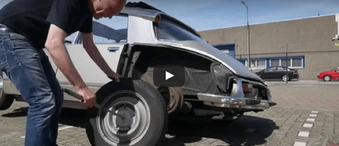 Rear wheel exchange