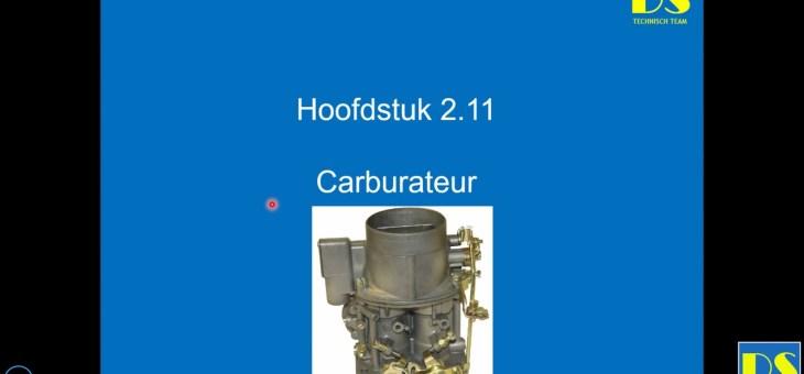 Werking van een carburateur, opname webinair