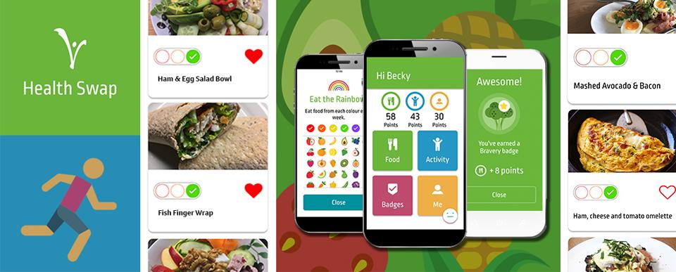 Health Swap App Page