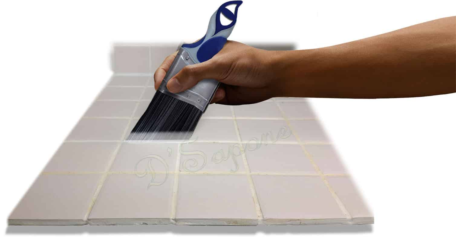 cleaning sealing grout in showers