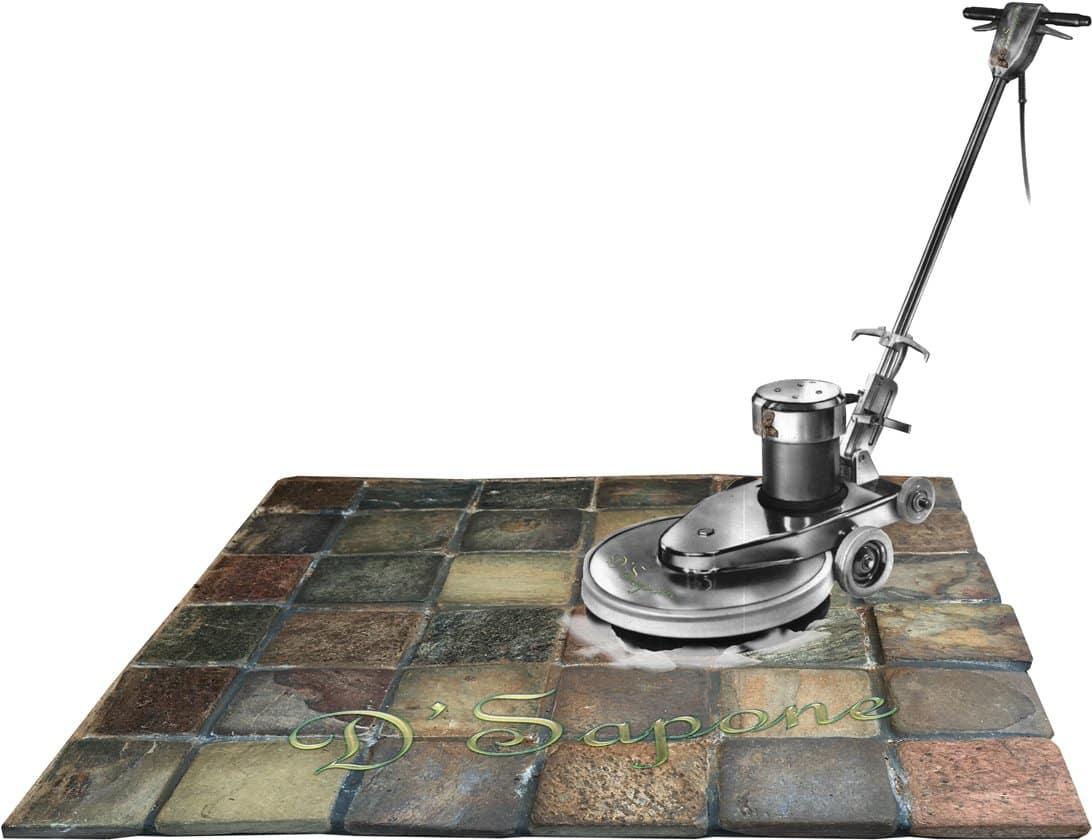 cleaning slate in showers slate