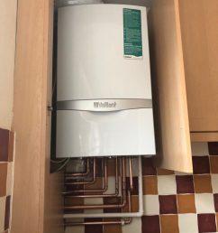 new combination boiler in ware [ 768 x 1024 Pixel ]