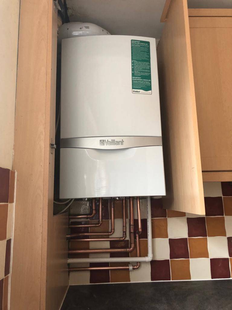 medium resolution of new combination boiler in ware