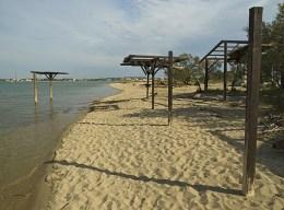 Kraljičina plaža, Sabunike, Nin