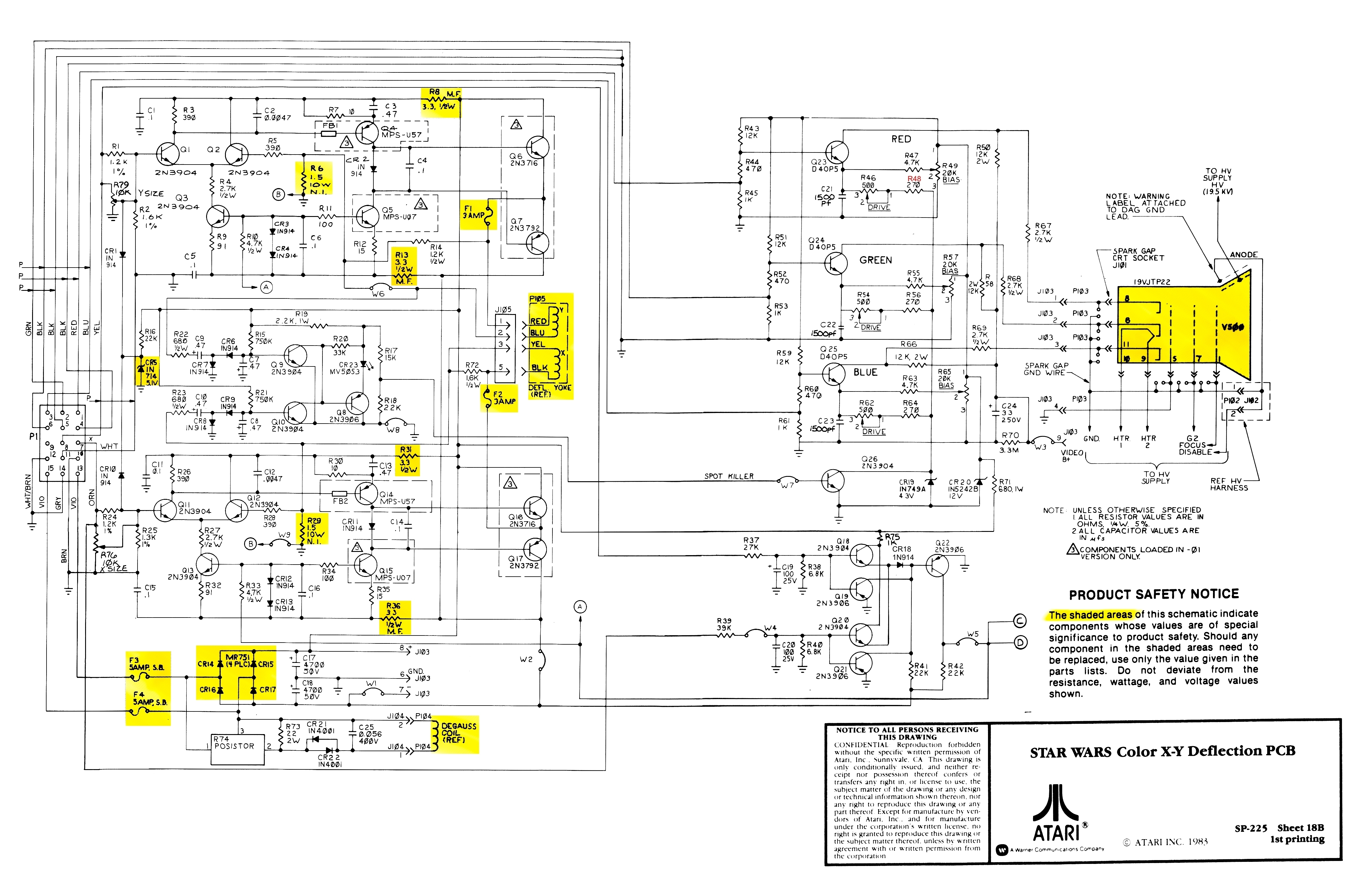 working of crt monitor with diagram 2003 jetta stereo wiring pcb circuit schematic get free image about