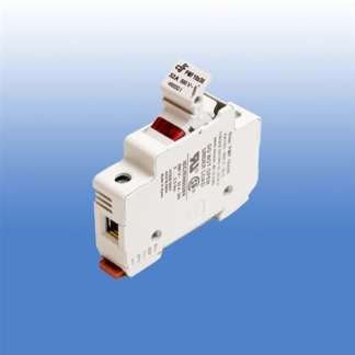 1 POLE FUSE HOLDER FOR MIDGET FUSES WITH 120V NEON INDICATOR