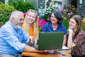 David Scott Brown & Karen Bentley-Brown providing training for Future Fixers