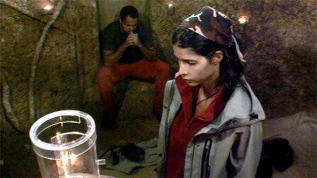 Die Jungfrau Maria mit Ailton eine Nacht lang im Dschungel-Loch