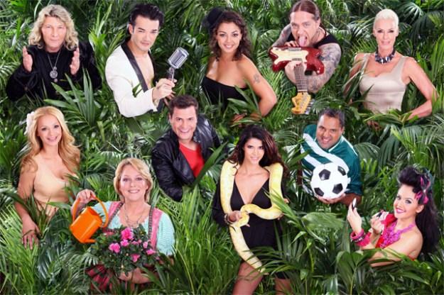 B-Promi Kandidaten der 6. Staffel von ICH BIN EIN STAR - HOLT MICH HIER RAUS dem Dschungelcamp 2012 auf RTL
