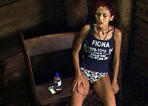 Fiona kotzt