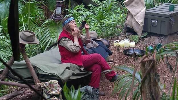 Tina im Dschungelcamp