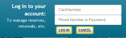 Catalog login