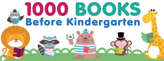 1,000 Books Before Kindergarten - Animals Reading