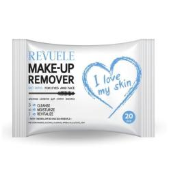 Wet Wipes for Eyes and Face REVUELE Thermal Water 20τμχ
