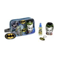 Lorenay Batman Premium Travel Bag Σετ Δώρου για αγόρια Άρωμα EDT 90ml Σαμπουάν & Αφρόλουτρο 300ml & Μπρελόκ