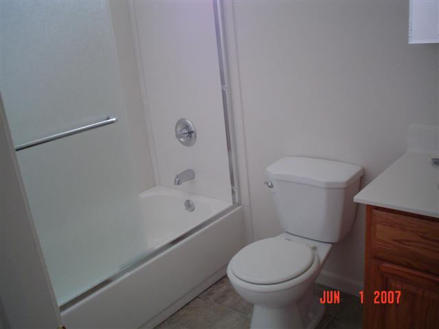fairfield remodel hall bath after