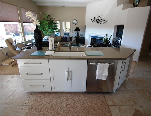 kitchen remodel sink island