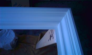 mitered corners picture frame