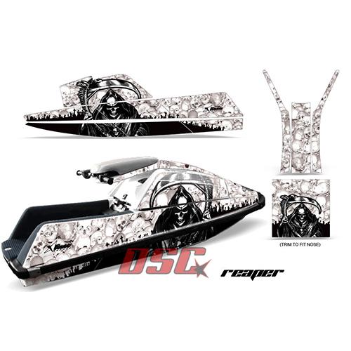 White Reaper Yamaha Superjet Jet Ski Vinyl Graphic Wrap