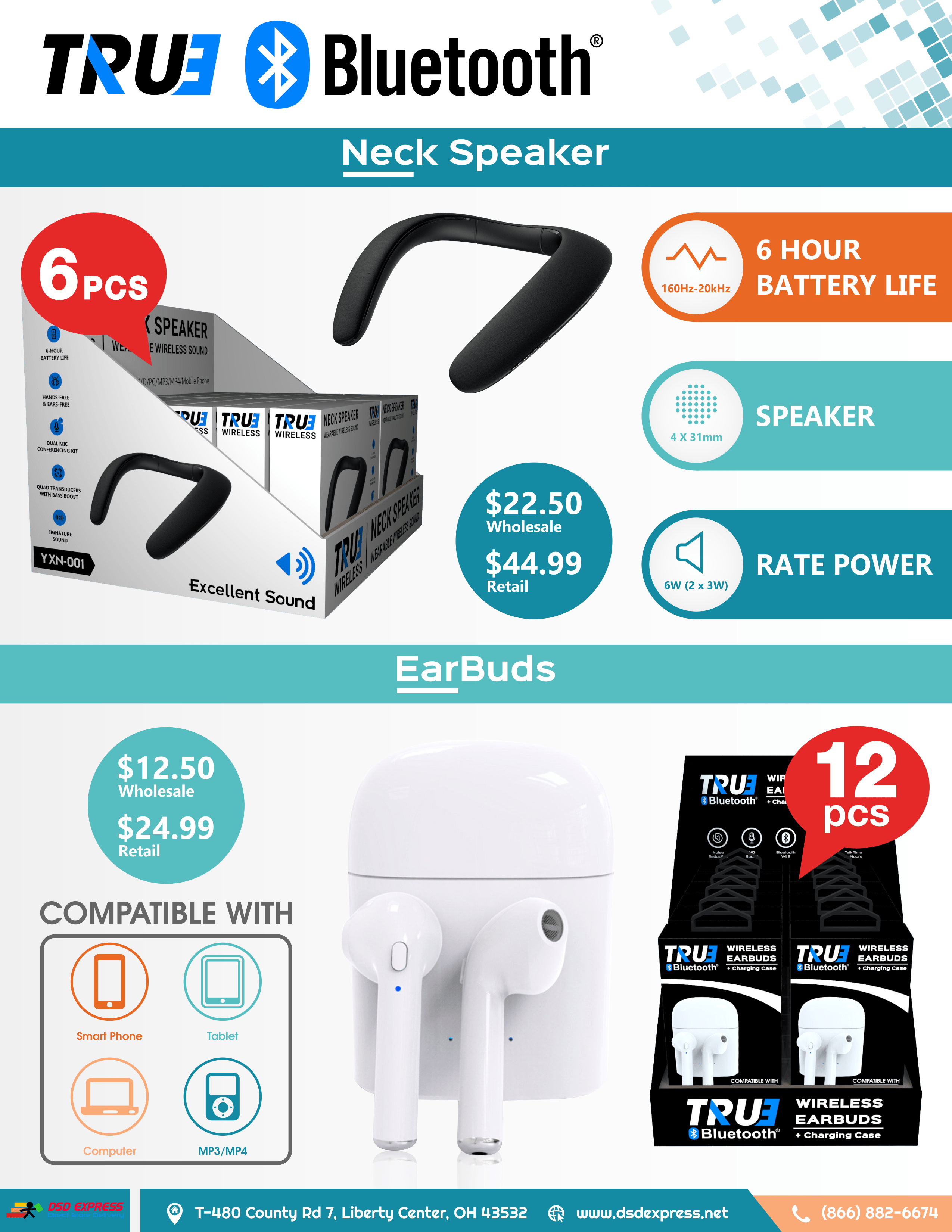Bluetooth Products Flyer