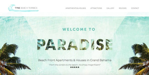 web design, logo and brand design, copy-writing // tynebeachterrace.com