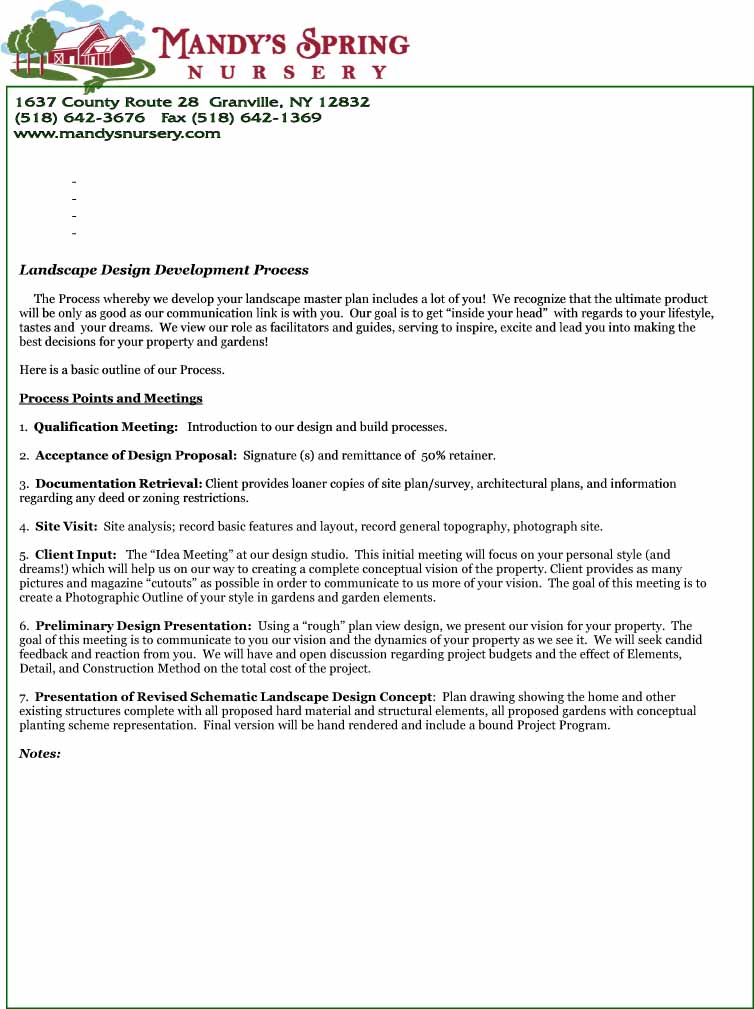 Letter Of Agreement Design