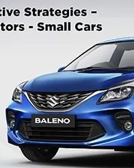 Creative Strategy For motors, small cars