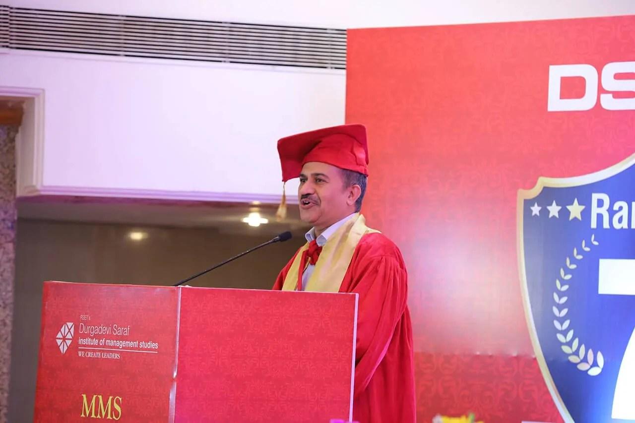 College Senior proffessor speech