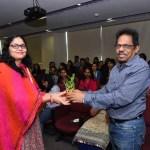 Student encoragement during college event