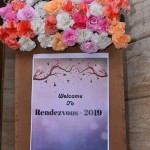 Welcome board Rendezvous 2019