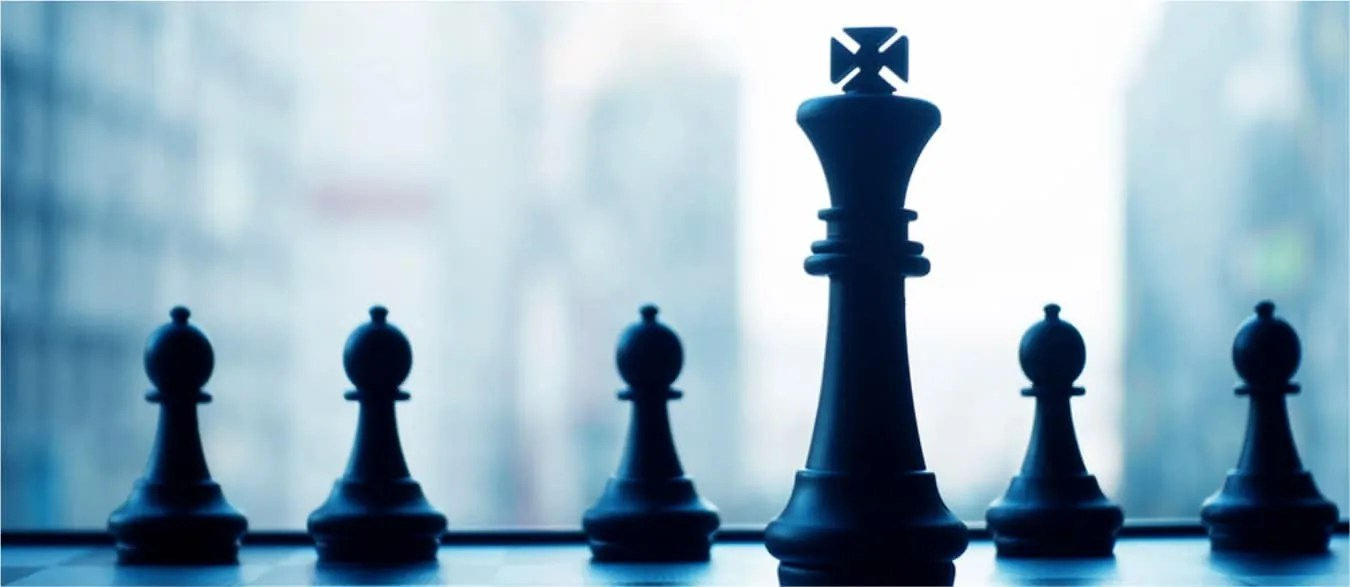 Chess pieces for leadership