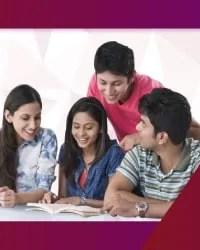 Group of student enjoying study