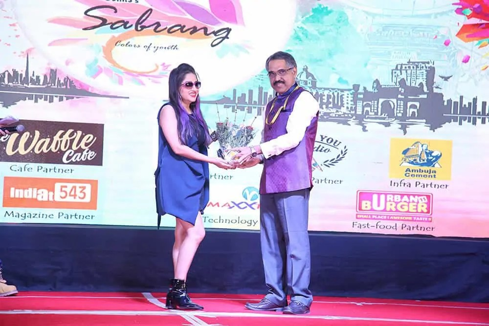 Sabrang event in college