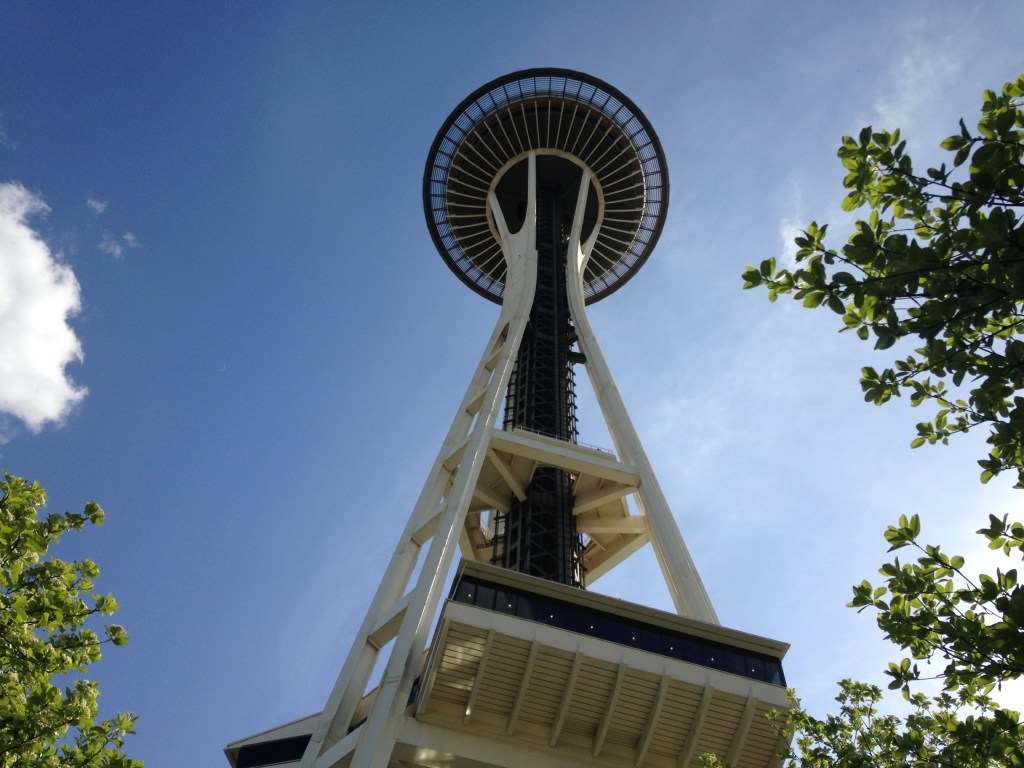 A different perspective of the Space Needle