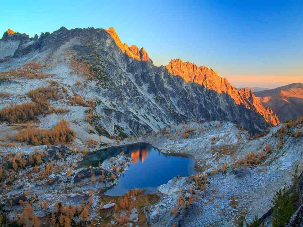 Above Crystal Lake