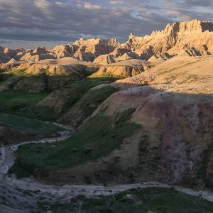 Badlands Perspective