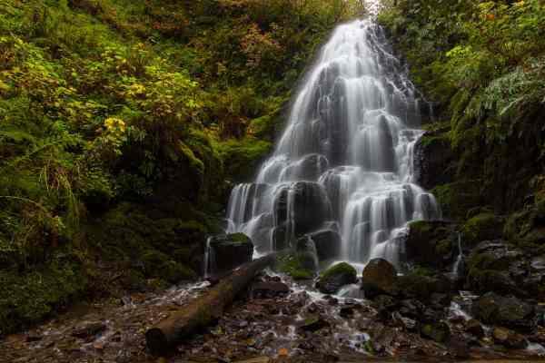 Fairy Falls in Autumn