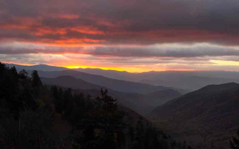 Great Smoky Sunrise